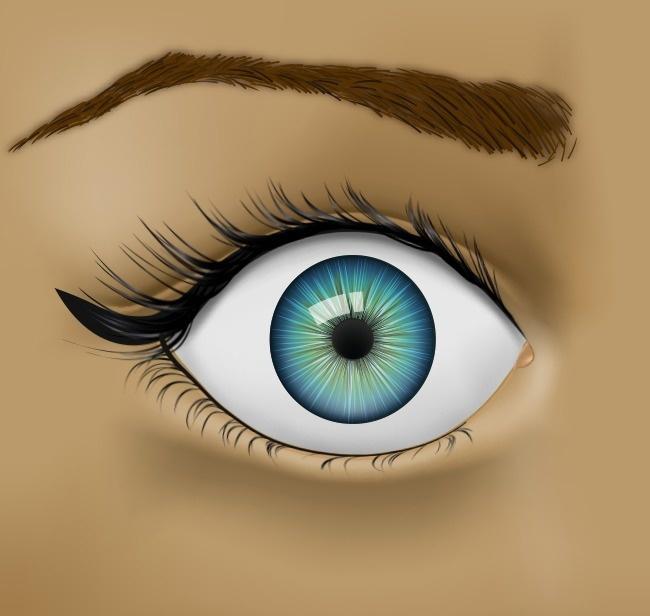 Выпученные глаза рисунок