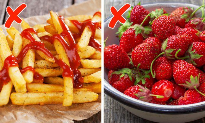 Не ешьте красную пищу