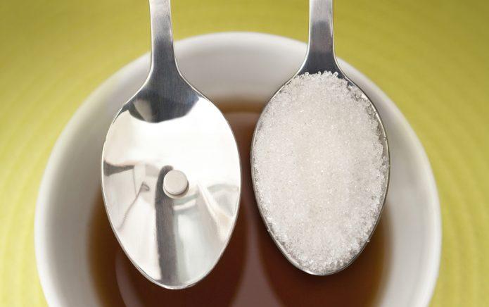 Заменитель сахара и натуральный в ложках