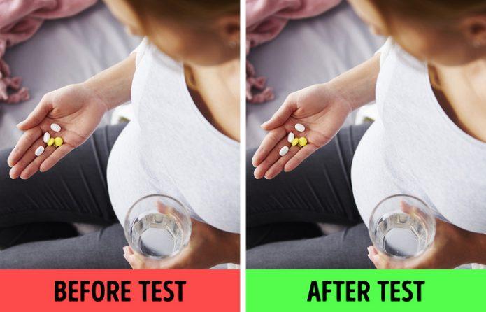 Не принимайте лекарства перед анализом