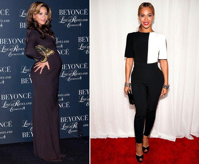 бейонсе до и после похудения