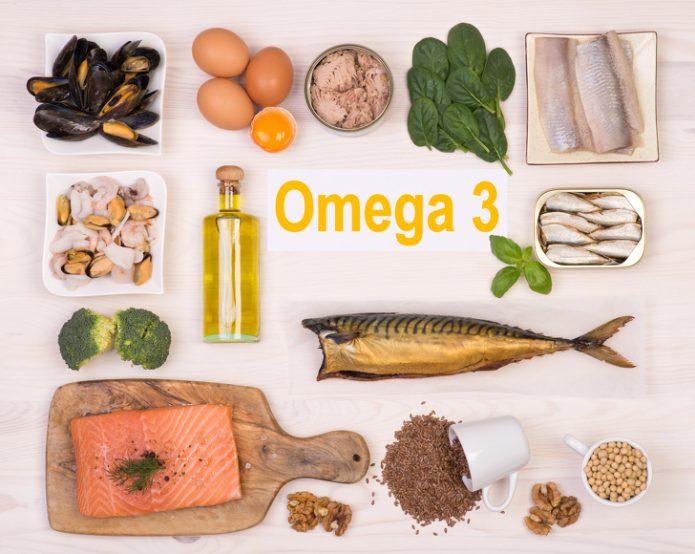 Омега-3 продукты