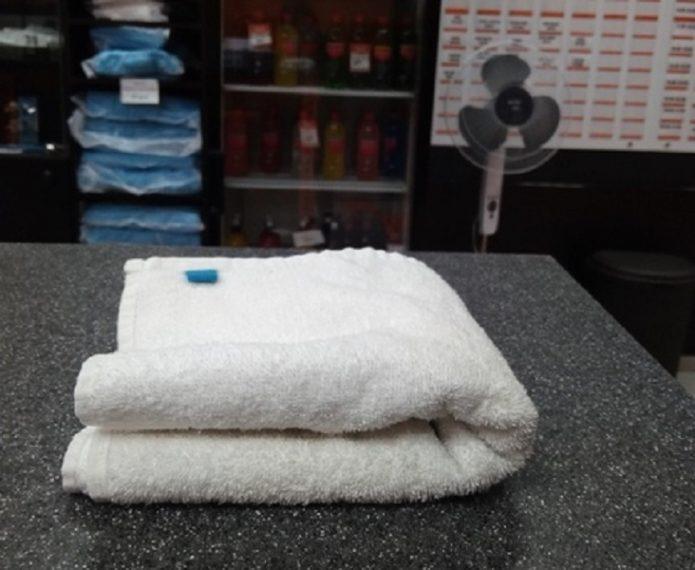 полотенце на ресепшн