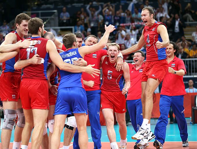 Мужская олимпийская сборная России по волейболу 2012