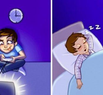 Играть в приставку и спать