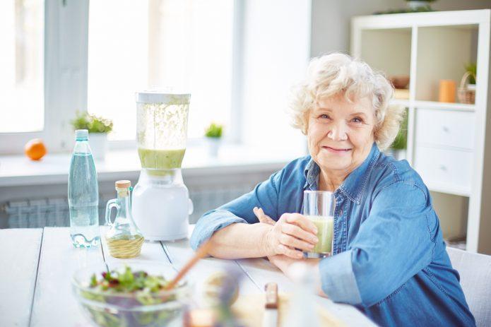 Правильное питание для пожилых