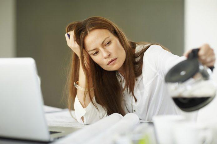 усталость у женщин