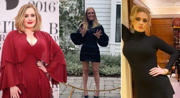 Адель до и после похудения