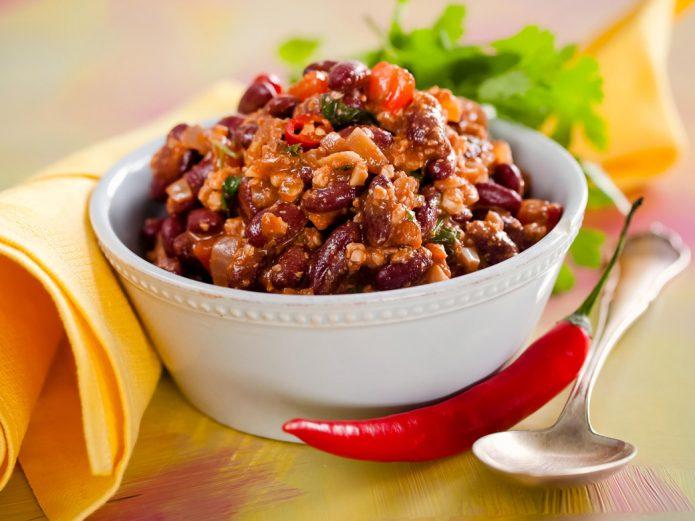 Red bean lobio