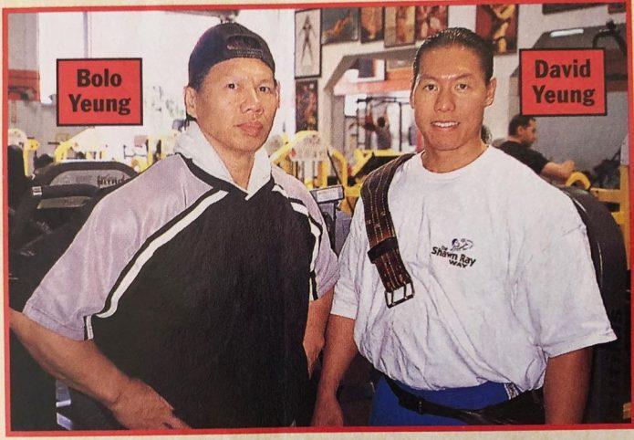 Боло Йенг и сын Дэвид