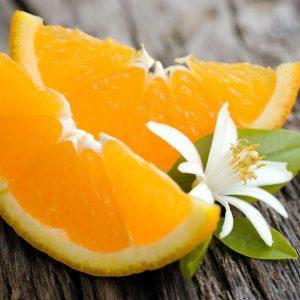 апельсины дольками