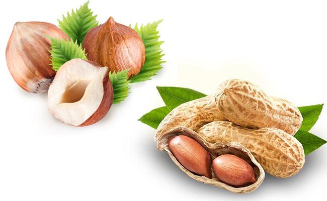 фундук и арахис
