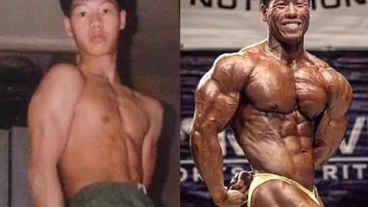 Сын Боло Йенга в юношестве и во время соревнований