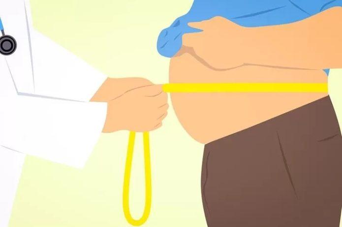 Ожирение рисунок