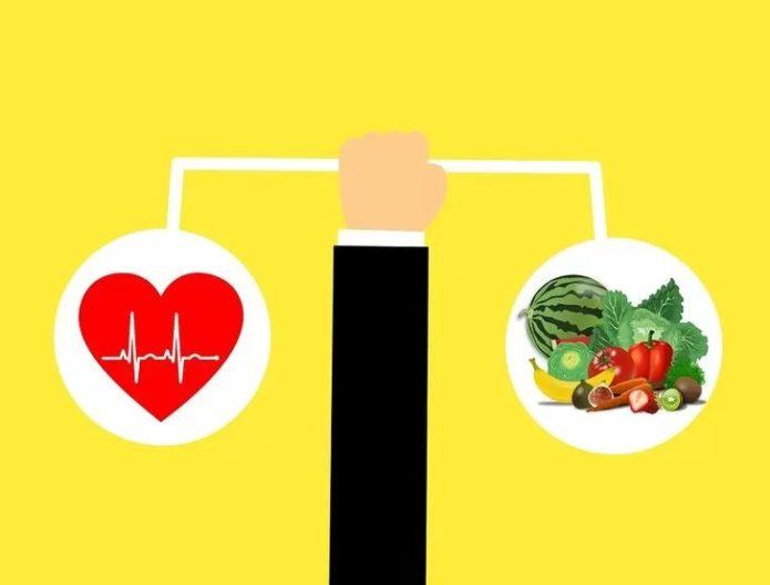 Питание на овощной диета и работа сердца