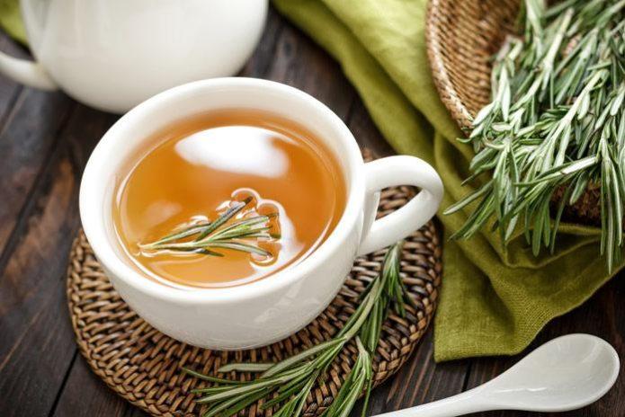 розмариновый чай