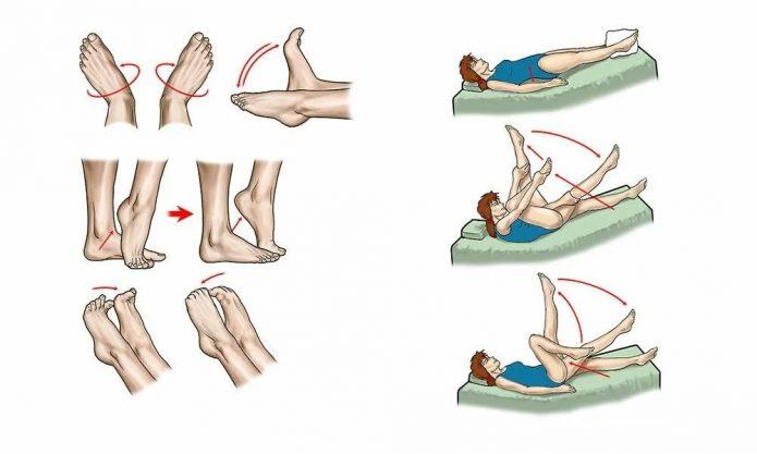 Упражнения для кровоообращения в ногах