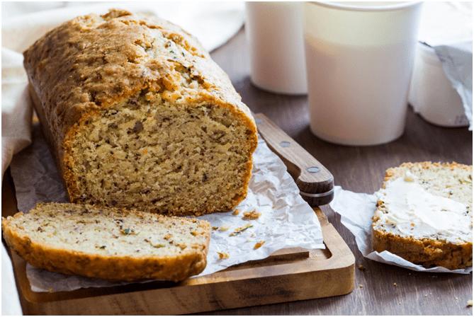 Домашний хлеб из цуккини