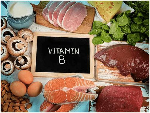 Таблица: содержание витаминов группы B в разных продуктах